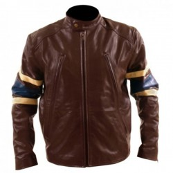 X-Men 3 'Wolverine' Brown Leather Jacket