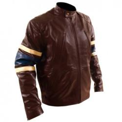 X-Men 3 'Wolverine' Brown Leather Jacket