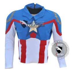 Peggy carter captain America Jacket for women (stretch Fabric )