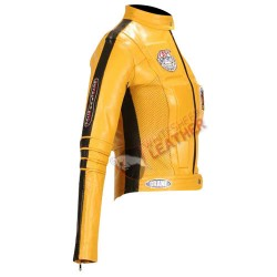 Kill Bill Uma Thurman Motorcycle Jacket