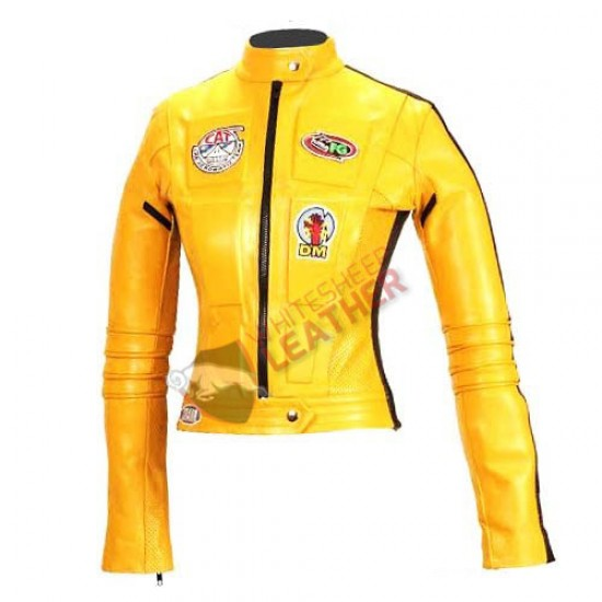 Kill Bill Uma Thurman Motorcycle Jacket