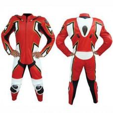 Men Designer Motorbike Racing Leather Suit