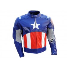 61 Captain America Motorcycle Leather Jacket 228x228 Jpg