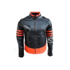 X-Men Origins Wolverine Black Leather jacket