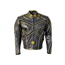 X-Men-3 Volverine Last Stand Biker Leather Jacket