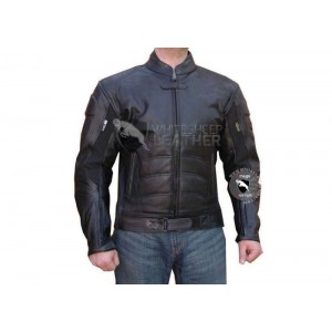 Batman Motorcycle Leather Jacket