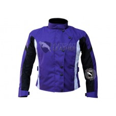 Textile Motorbike Men Purple cordura Jackets