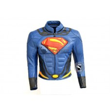 New Superman MotorCycle Leather Jacket