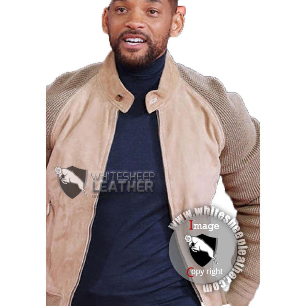 Focus 2015 Film Music Release Show Will Smith Leather Jacket Role as Nicky