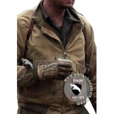 Fury Movie Brad Pitt WW2 Leather Jacket