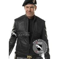 G.I Joe The Rise of Cobra General Hawk Leather Jacket