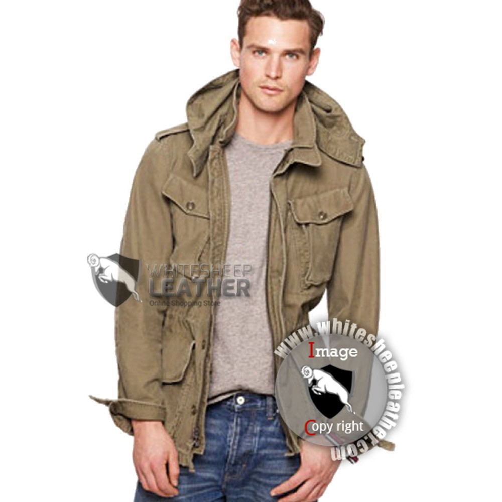 Garrison Fatigue Leather Jacket