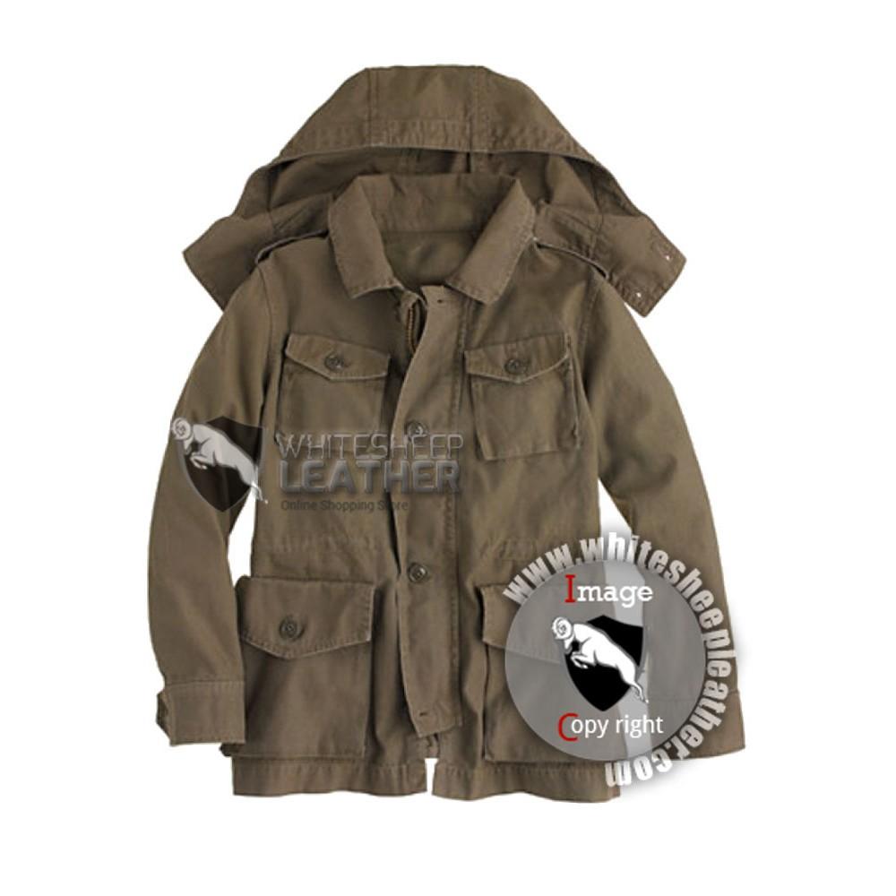 Garrison Fatigue Leather Jacket