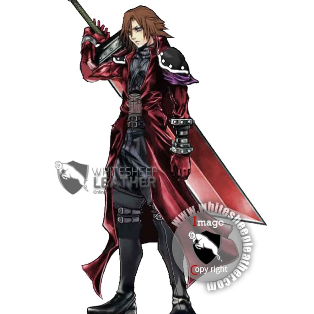 Genesis Rhapsodos Final Fantasy Trench Leather Coat