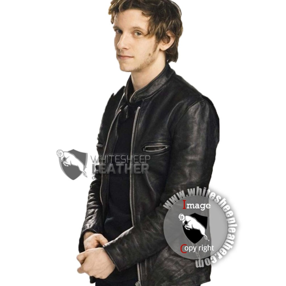 Griffin Leather Jumper Leather Jacket
