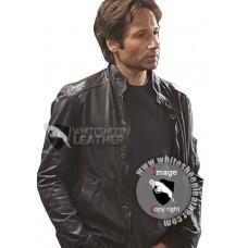 Hank Moody Leather Jacket Season 5 ( Free shipping )