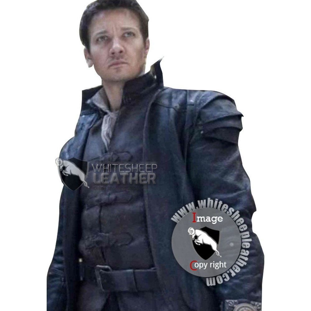 Hansel and Gretel Jeremy Renner Leather Jacket ( Free shipping )