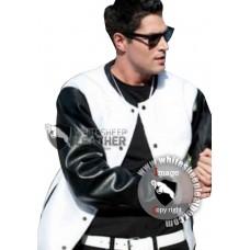 Hobo with a Shotgun Nick Batman Leather Jacket (Free shipping)