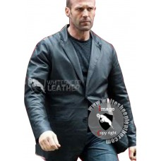 Hummingbird Jason Statham Leather Jacket (Free shipping)