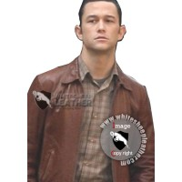 Inception Arthur Joseph Gordon Levitt Leather Jacket (Free shipping)
