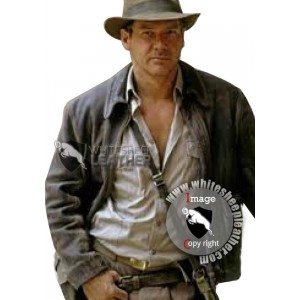 Indiana Jones Leather Jacket (Free shipping)