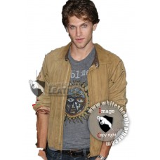 Insidious Chapter 2 Premiere Keegan Allen Leather Jacket ( Free Shipping)