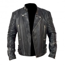Classical Zipper Motorbike Leather Jackets