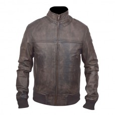 Stylish Brown Bomber Leather Jackets