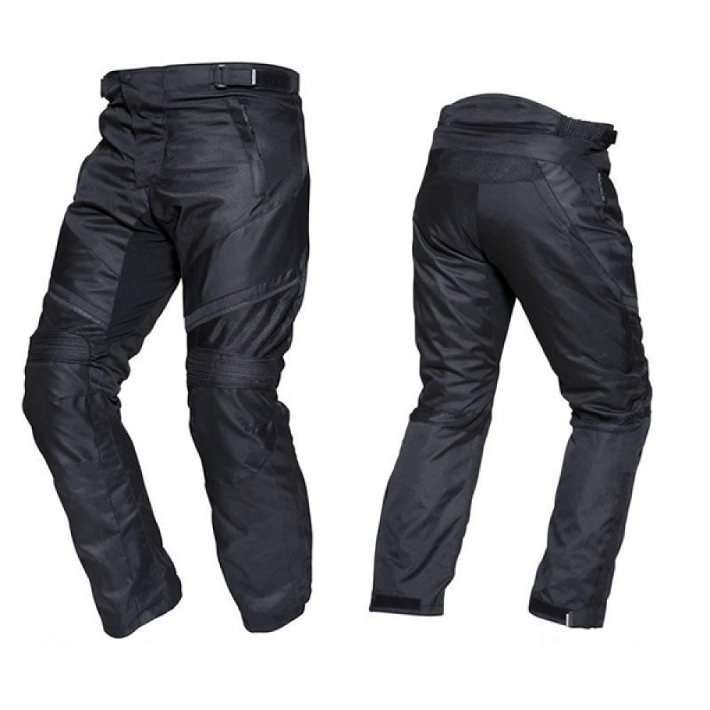 Designer Black Motorbike Leather Trousers