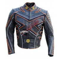 'X-Men X3' Wolverine Last Stand Motorcycle Leather Jacket