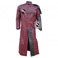 Guardians of The Galaxy Star Lord Costume Leather coat