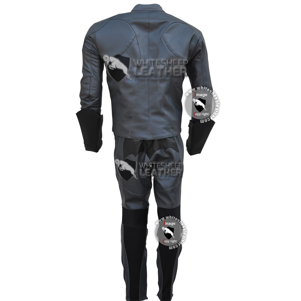 Batman Arkham Knight costume leather Suit (Free Shipping)