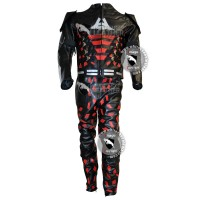 Batman Arkham Knight Leather Costume (free shipping)