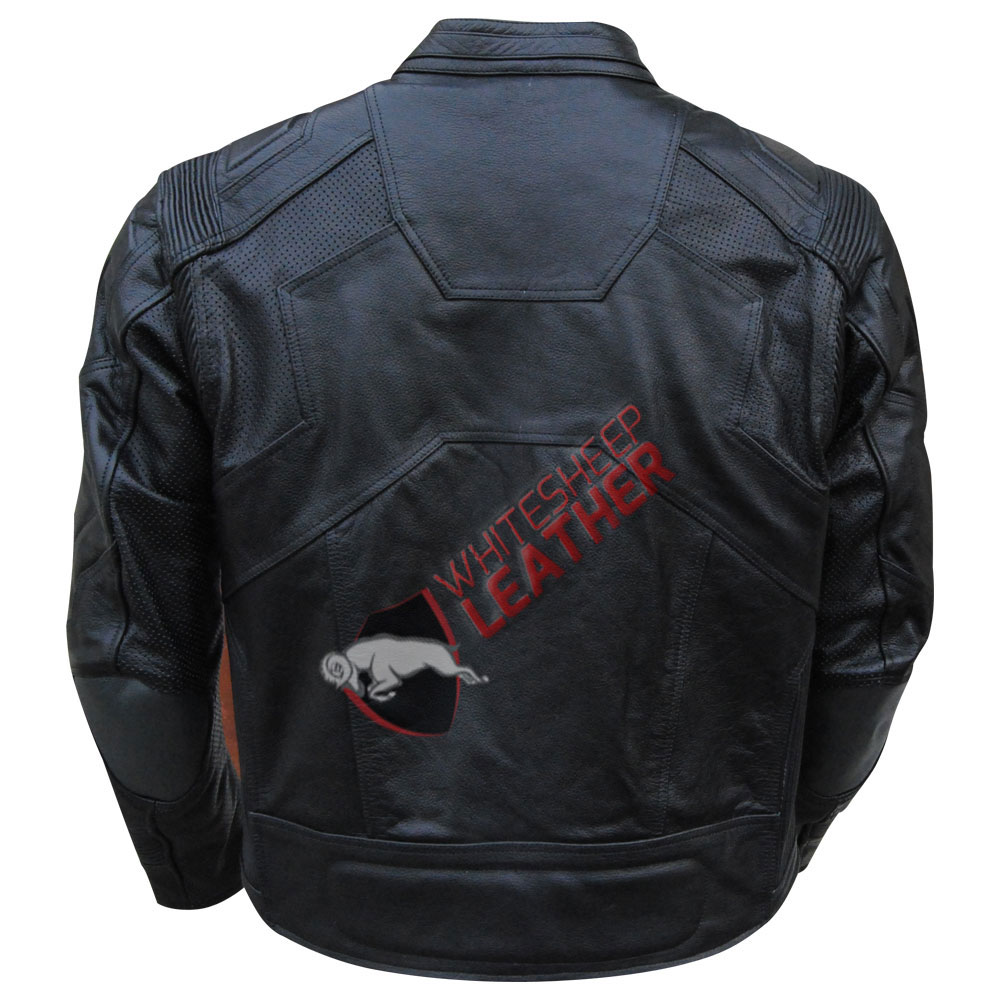 Jack Harper Oblivion Black Leather Jacket
