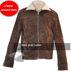 Rick Grimes Season 4 Brown Leather jacket