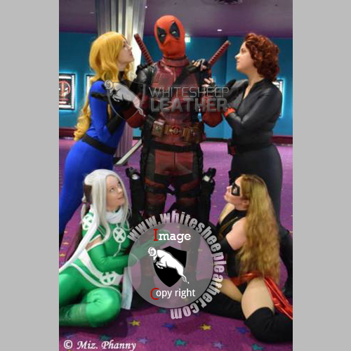 Deadpool Real leather Suit