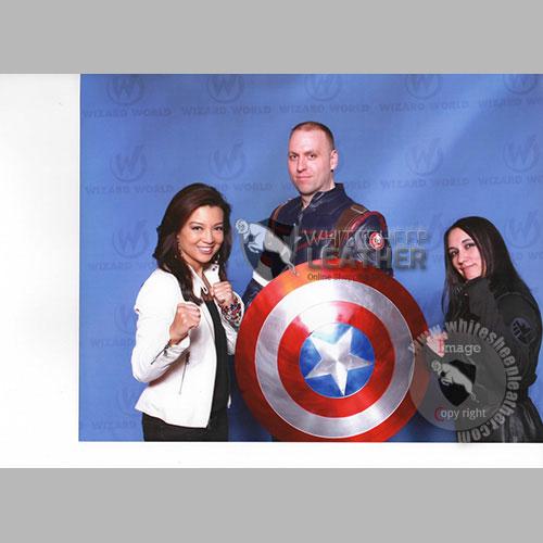 Captain America Civil war real leather suit