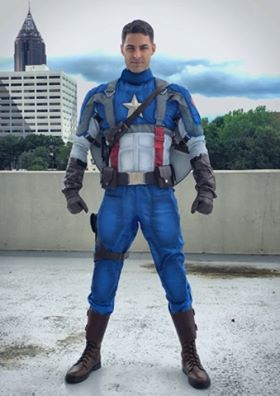 Captain America The First Avenger Suit